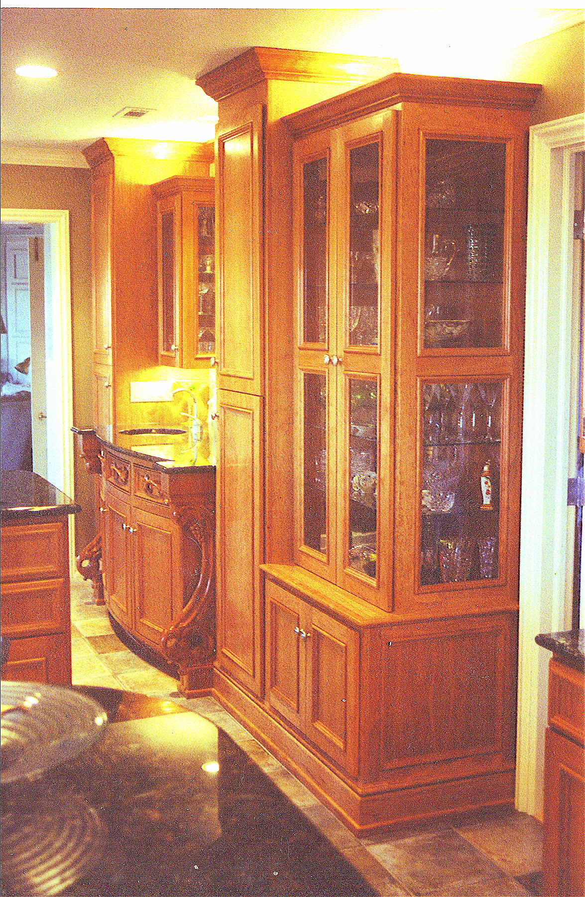 Radiused Kitchen Cabinets