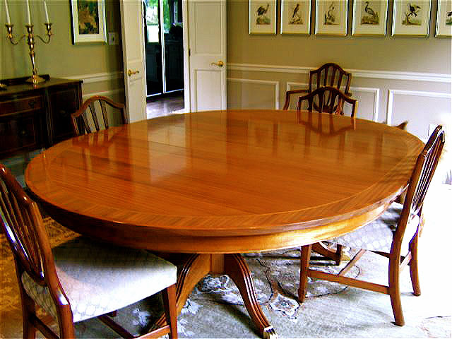 Mahogany Dining Table Yellowhammer Woodworks